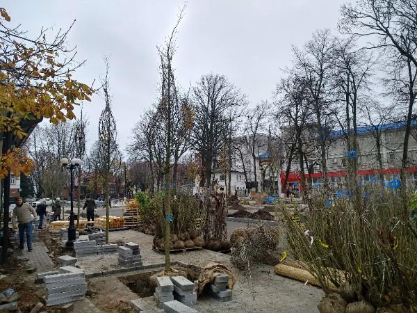 Реконструкция привокзальной площади в Зеленоградске-134133