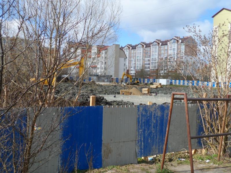 Новый детский сад в Зеленоградске на ул. Солнечной (27.02.19)-129172