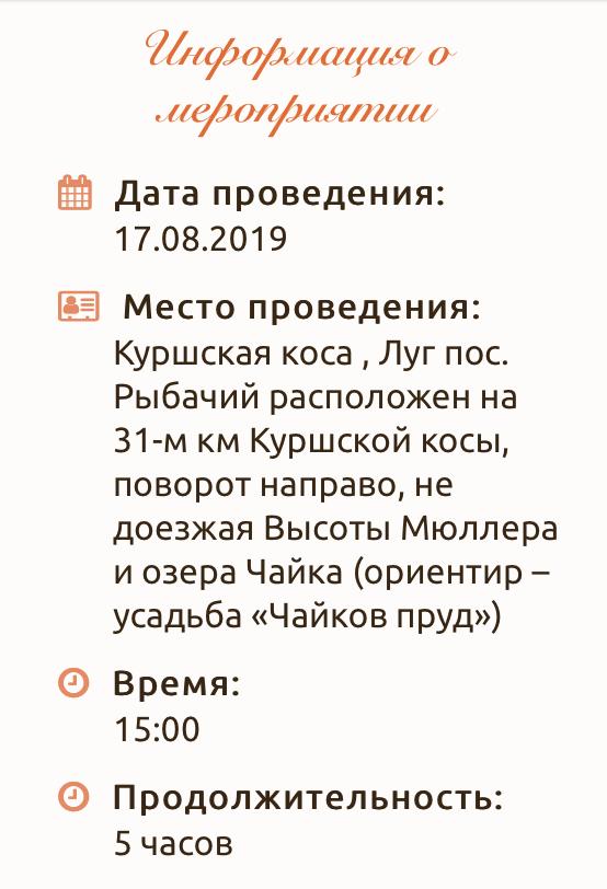 В субботу 17 августа, в Зеленоградске перекроют несколько улиц (16.08.19)-132564