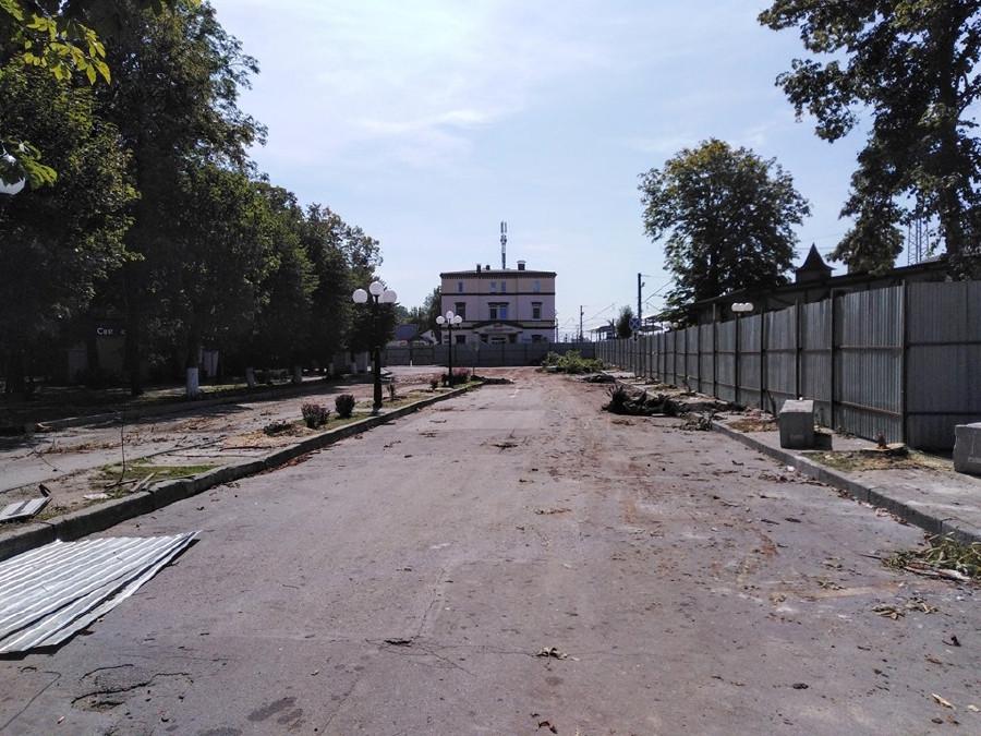 Реконструкция привокзальной площади в Зеленоградске-132830