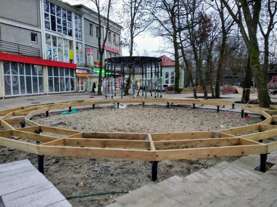Реконструкция привокзальной площади в Зеленоградске-134329