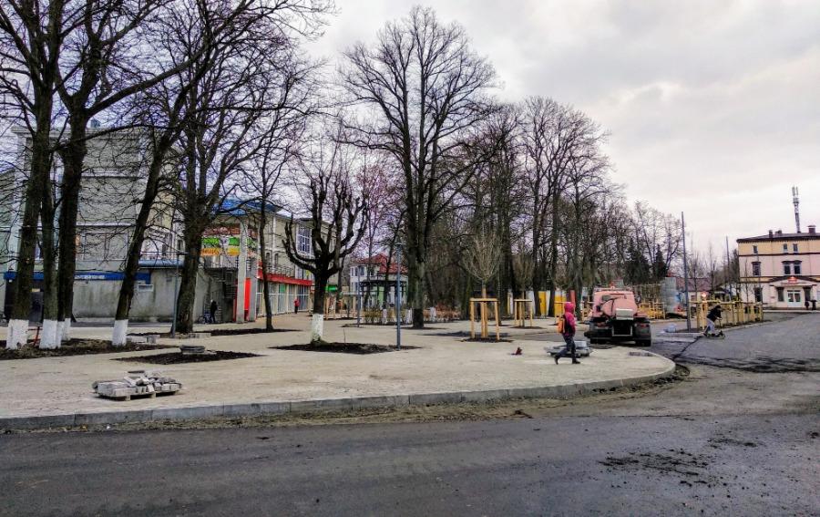 Реконструкция привокзальной площади в Зеленоградске-134328