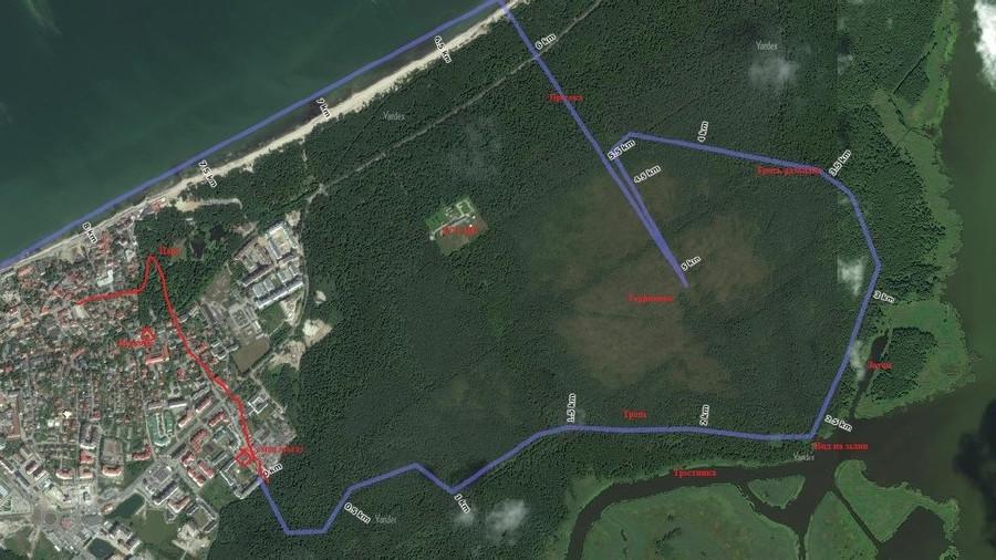 Пешие прогулки у Зеленоградска-130060