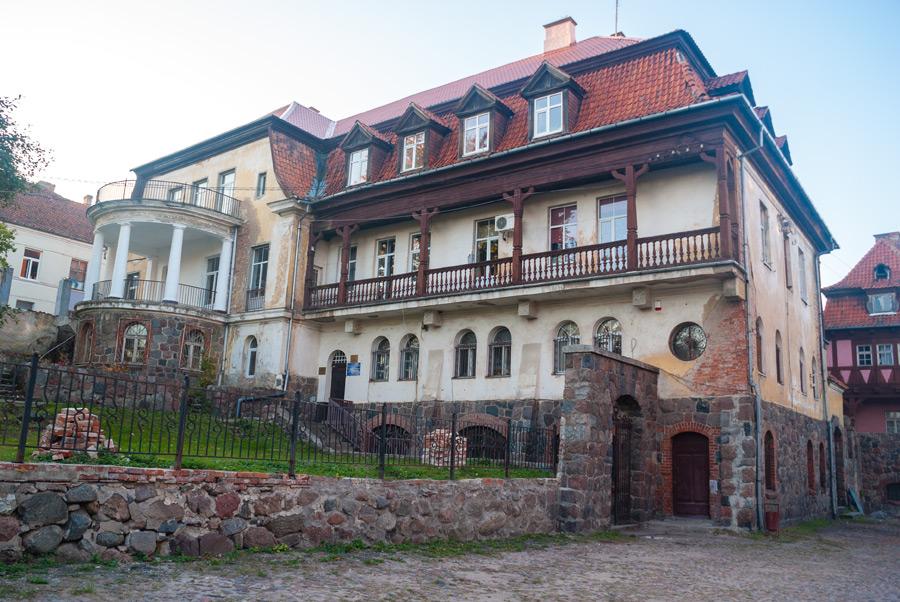Дом Рихарда Вихерта и музей Озёрска-107565