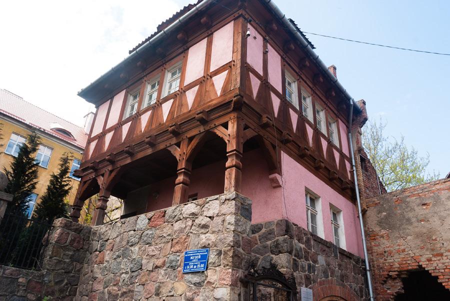 Дом Рихарда Вихерта и музей Озёрска-107570