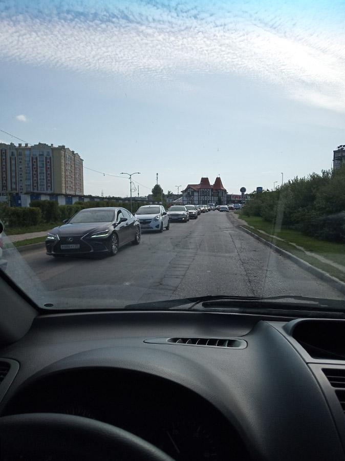 Дорожная обстановка в Зеленоградске-132457